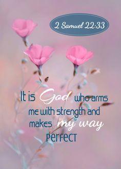 He Maketh My Way Perfect!