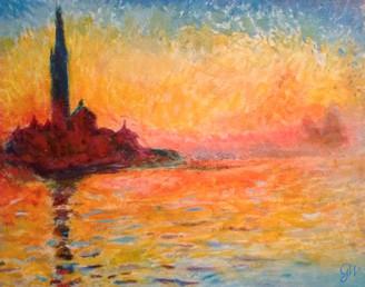 San Giorgio Maggiore (after Monet)