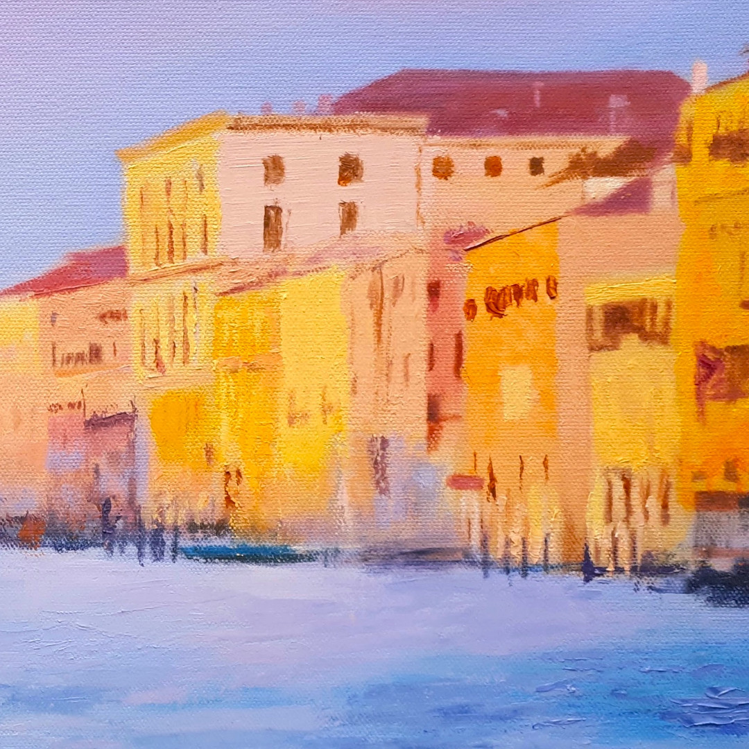 Reflections in Venice (detail)
