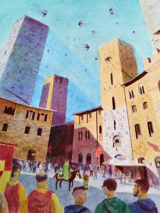 Medieval Festival in San Gimignano