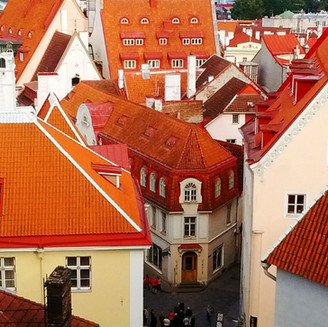 Red Roofs in Estonia