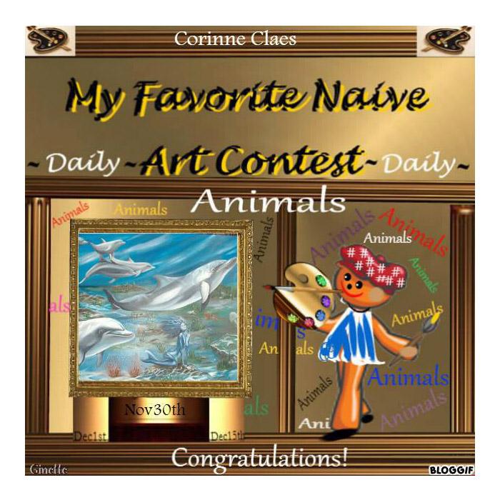 Animals dolfijnen, daily contest