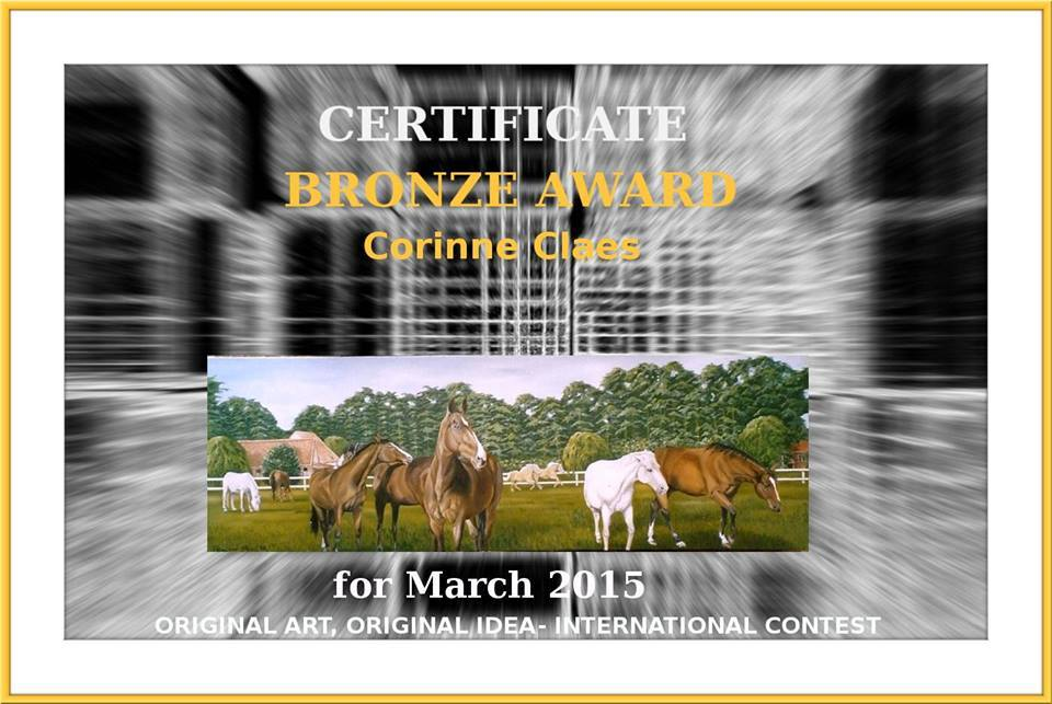 Certificate March 2015