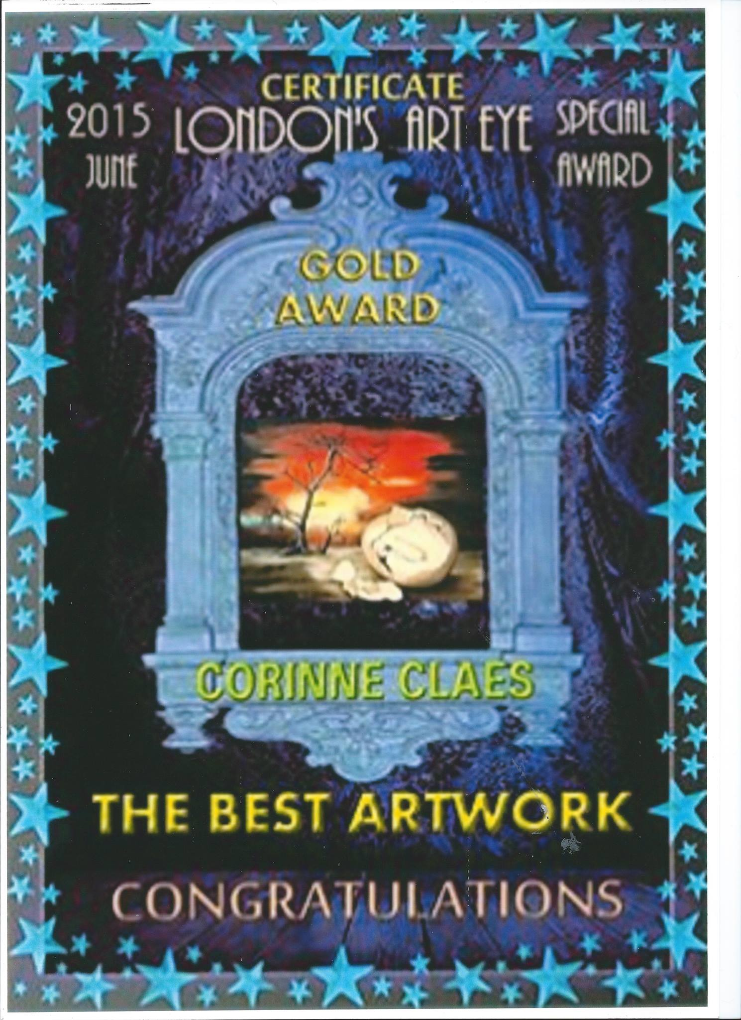 Best Artwork Certificate