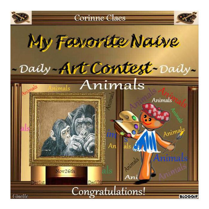Animals Koko, daily contest