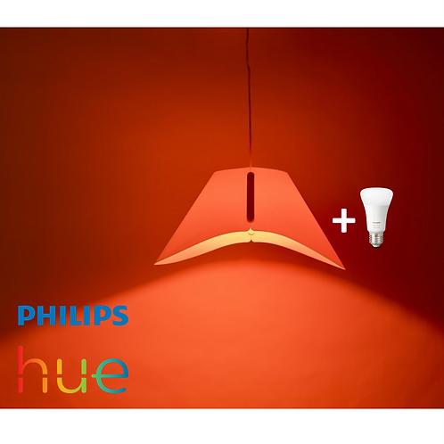LAMPARA COLGANTE PHILIPS +AMPOLLETA COLOR PHILIPS HUE BLUETOOTH