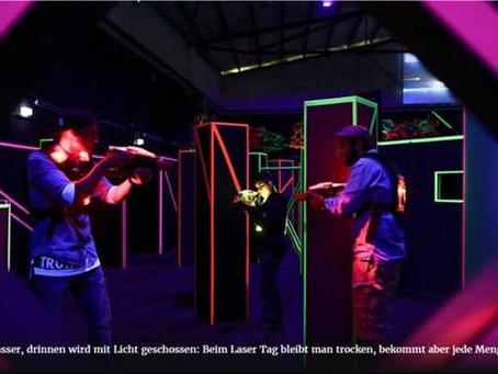 Lasertag zum Männertag in Düsseldorf