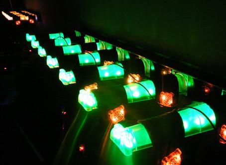 Das LaserTag  Equipment ist installiert.