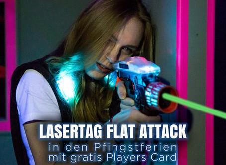 Flat Attack in den Pfingstferien mit gratis Player's Card!