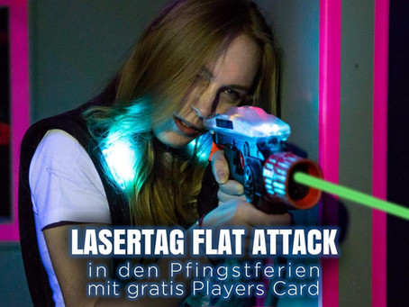 Flat Attack in den Pfingstferien mit gratis Player's Card!