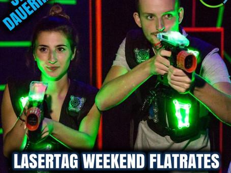 Bis zu 5 Stunden LaserTaggen am Wochenende für nur 22€!