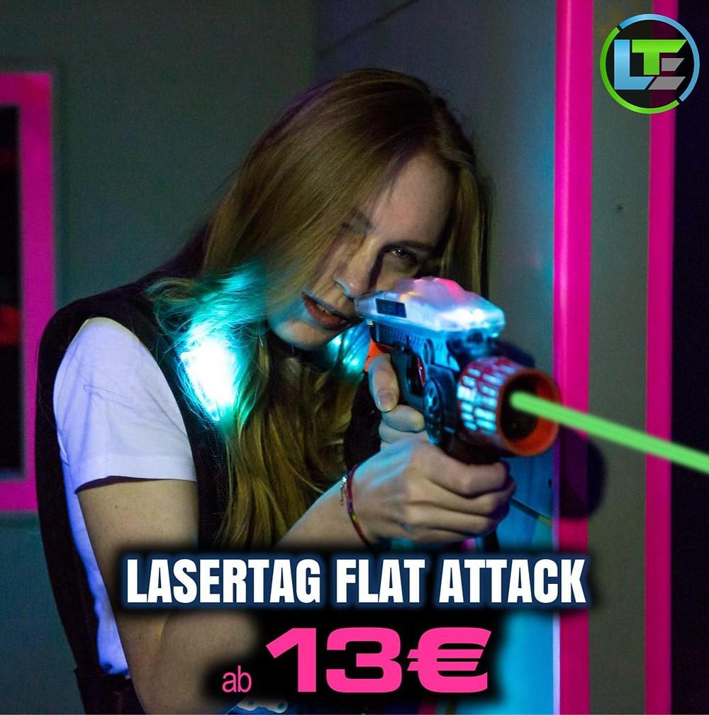 LaserTag Düsseldorf Flat Attack