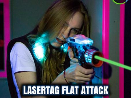 Spielt in den Osterferienbis zu 4 Stunden LaserTag mit unseren beliebten Flatrates