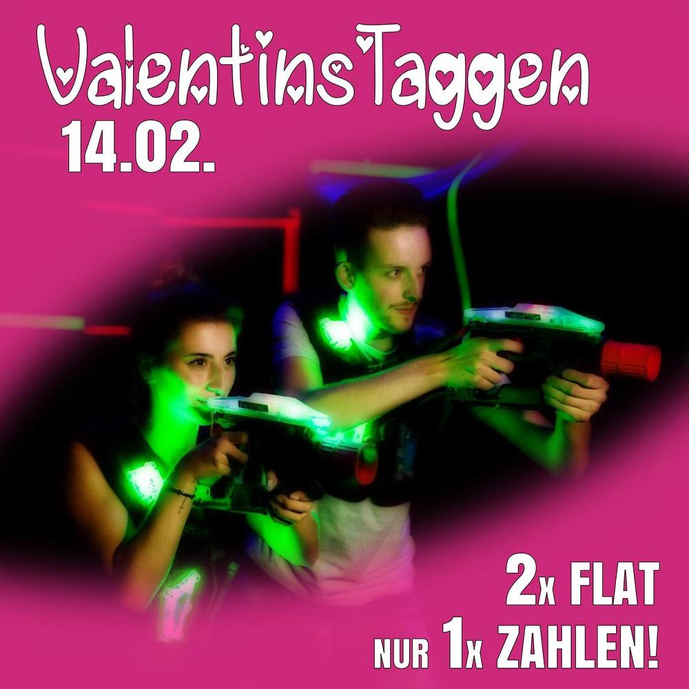 LaserTag Düsseldorf Valentinstag Special 2020