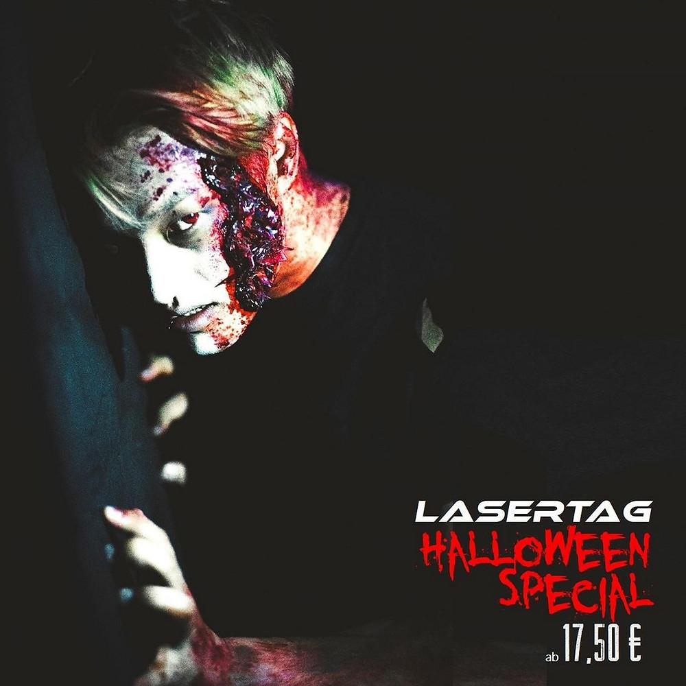 LaserTag Düsseldorf Halloween 2018