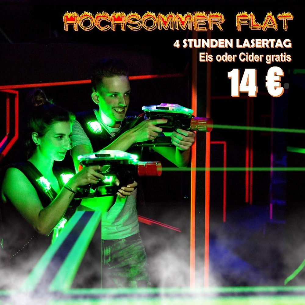 LaserTag Sommerferien Flat 2018