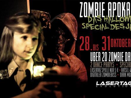 Unser LaserTag Halloween Special