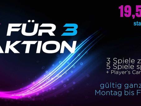 5 für 3 Aktion