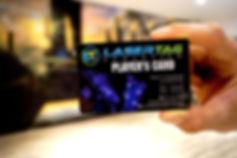 Players Card von Lasertag Düsseldorf
