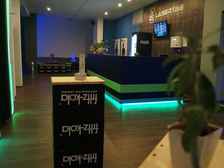 Unsere LaserTag Lounge
