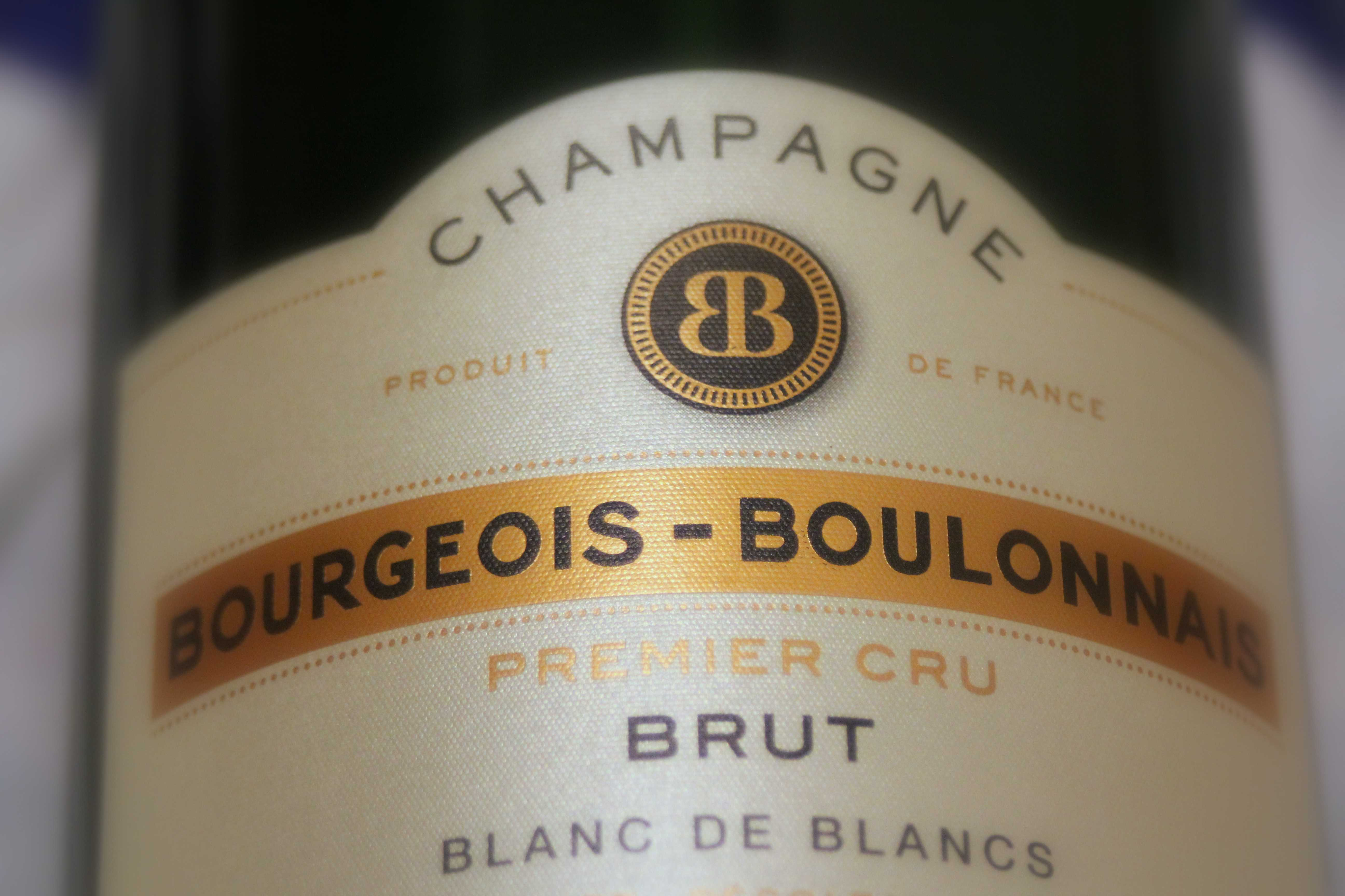 Champagne Blanc de blancs premier cr