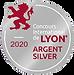 Médaille d'Argent Concours des vins de Lyon 2020