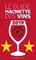 Coup de coeur deux étoile guide hachette des vins 2019, champagne grande réserve premier cru à Vertu