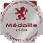 Médaille d'argent Concours International de Lyon 2017