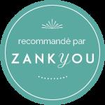 Recommandé par Zankyou weddinds, magazine de mariage