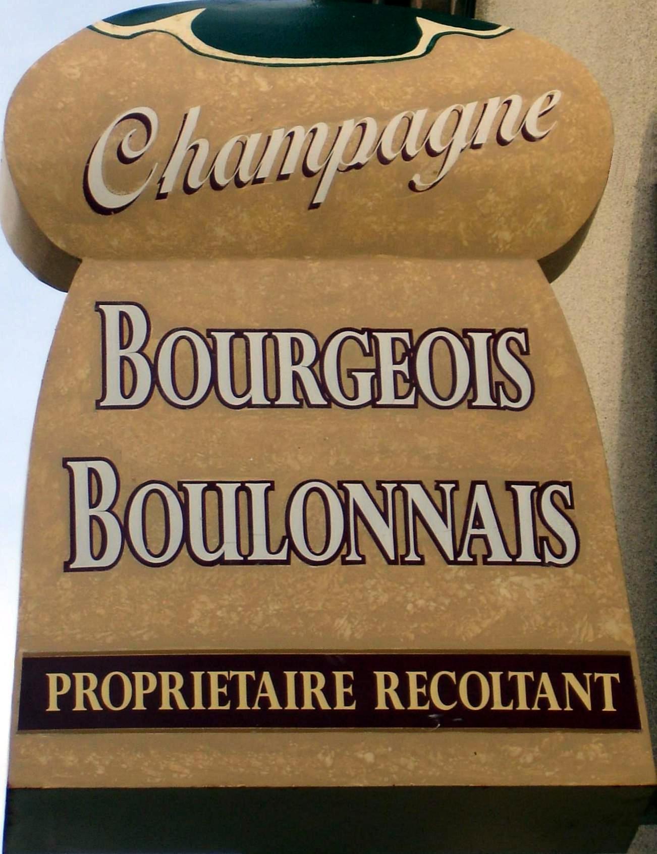 Notre enseigne BOURGEOIS-BOULONNAIS