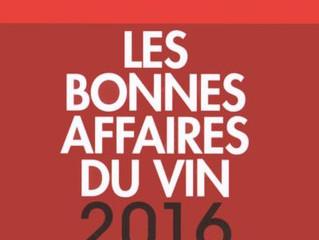 Les bonnes affaires du vin 2016, RVF