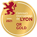 Médaille OR champagne Millésime 2014