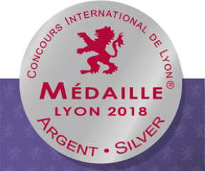 Médaille d'argent Concours International de Lyon 2018