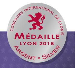 Médaille au concours de Lyon 2018