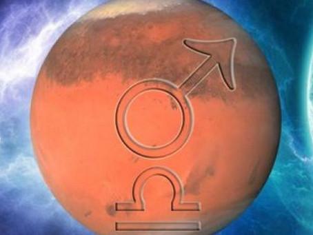 Weekly Astrology Outlook--Mars Enters Libra