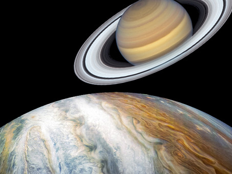 Jupiter Joins Saturn in Aquarius--20 year Collective Shift