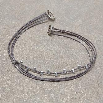 silver zip