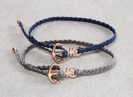 braided anker rosegold