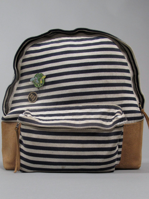 Striped Backpack AFTER