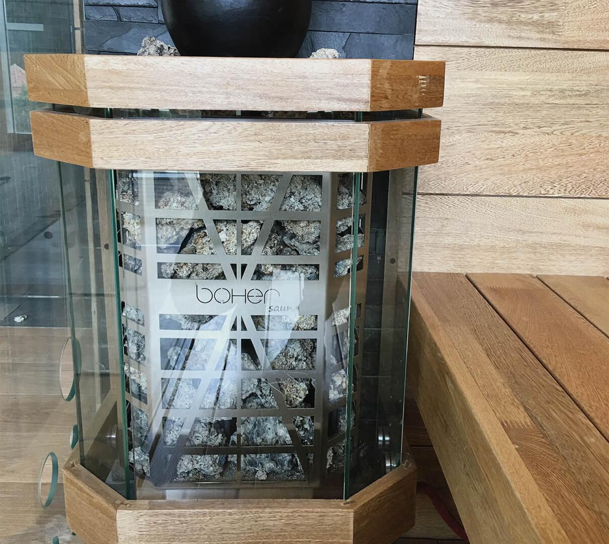 Generador de calor Eléctrico para Sauna Mónaco