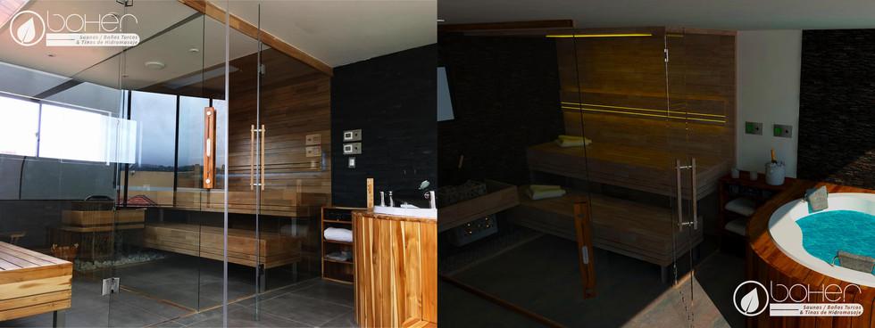 Zona Húmeda Completa (Sauna - Baño Turco - Jacuzzi)