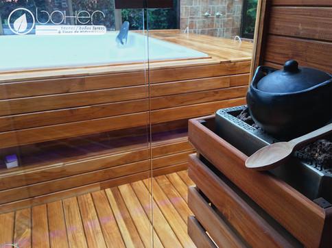Generador de calor Eléctrico para Sauna Basic