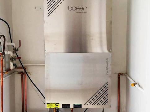 Caldera o Generador de Vapor Mural a Gas para Baño Turco