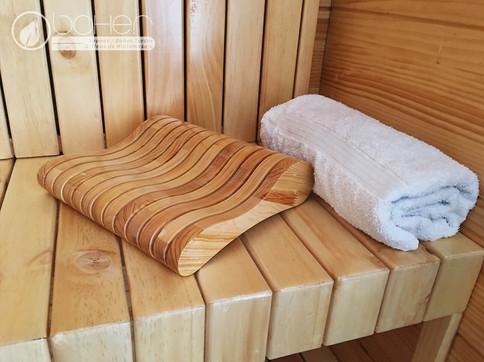 Cabeceros para Sauna
