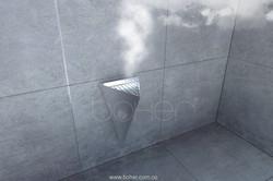 Boher salida de vapor caldera de vapor