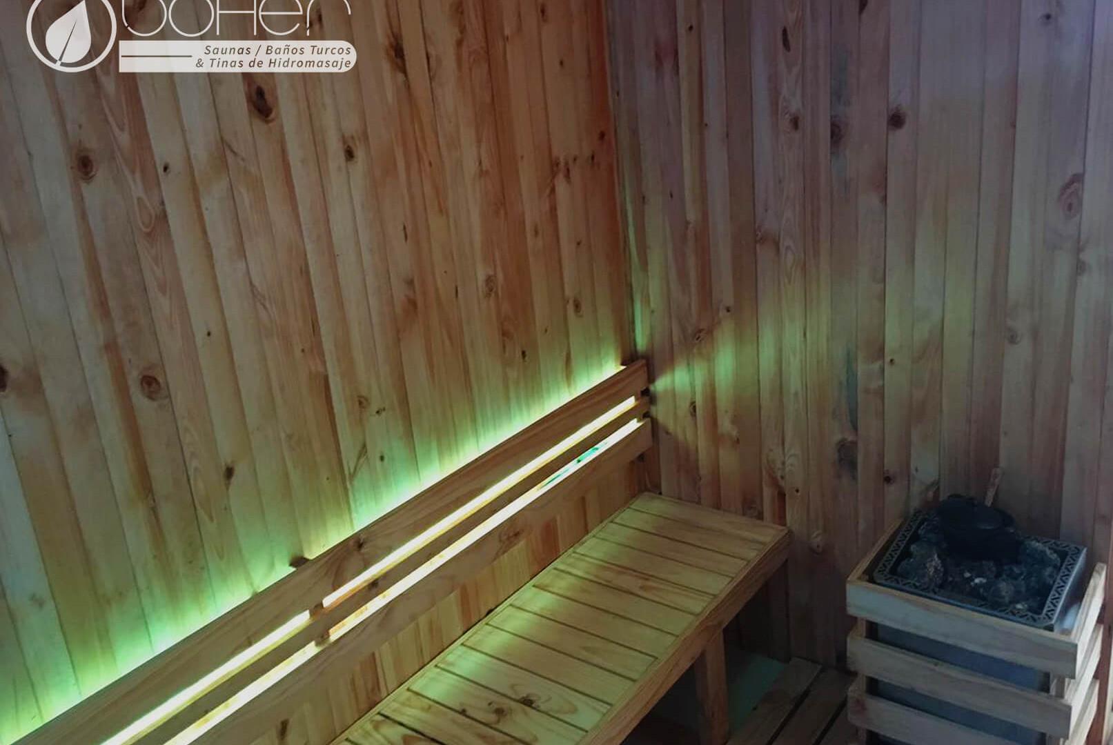Generador de calor Eléctrico para Sauna Classic