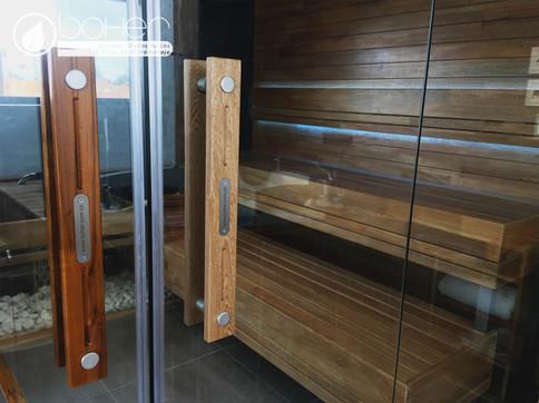 Manijas en Madera para Sauna