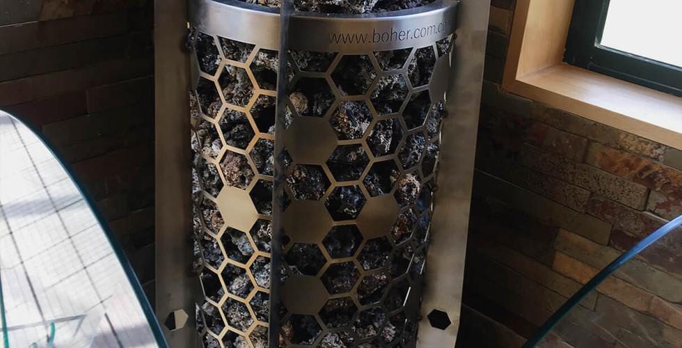 Generador de calor Eléctrico para Sauna Deluxe