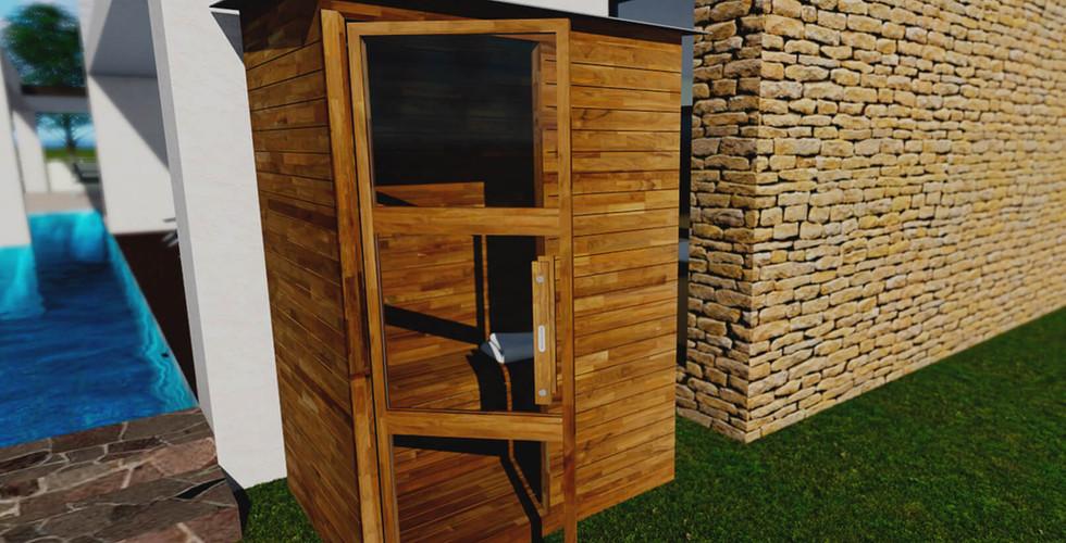Sauna Portátil Línea de Exterior