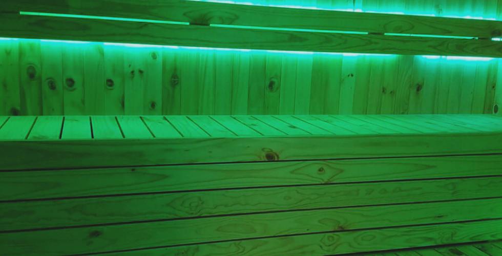 Sistema de Iluminación para Saunas